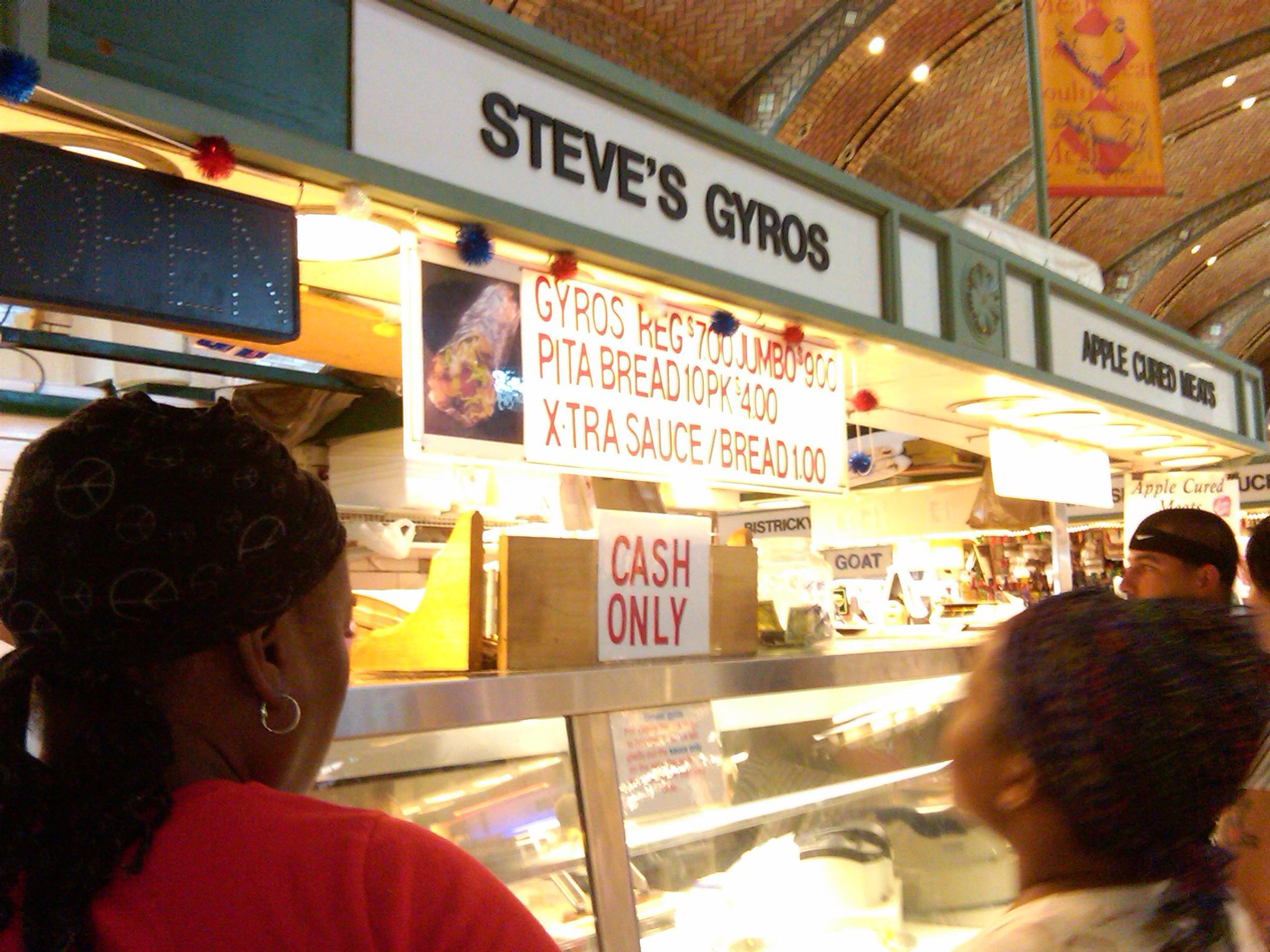 Restaurant quarrylanefarms for Steve s garden market